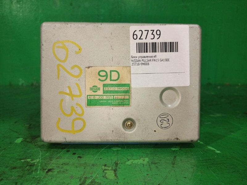 Блок управления efi Nissan Pulsar FN15 GA15DE 23710-9M008
