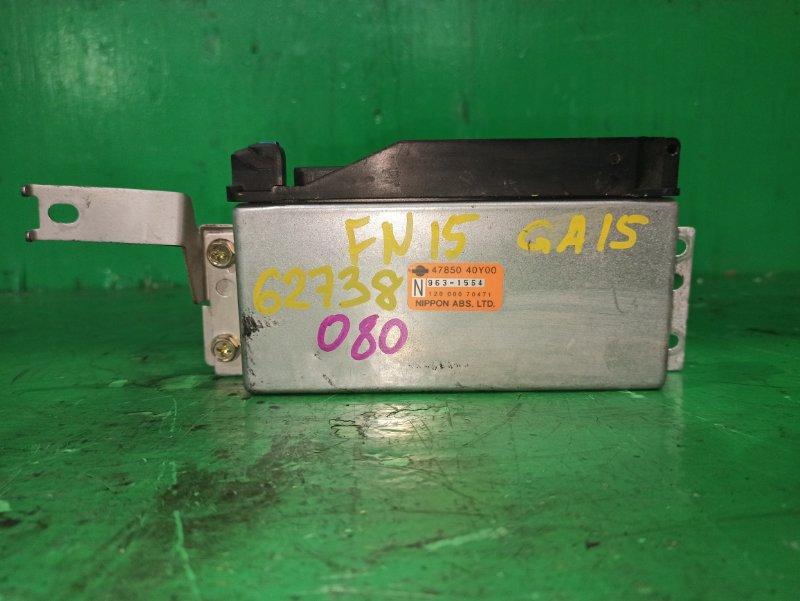 Блок управления автоматом Nissan Pulsar FN15 GA15DE 47850-40Y00