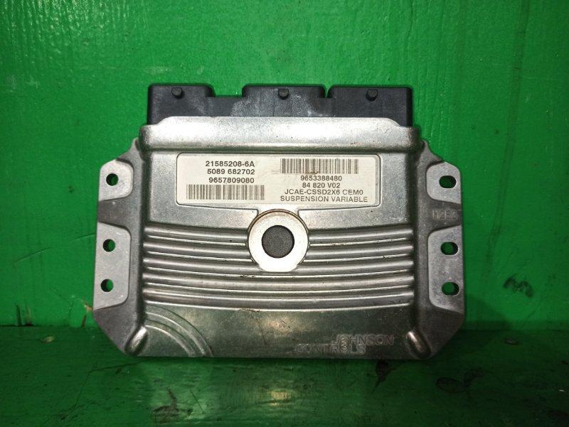 Блок управления автоматом Peugeot 407 6D XFV