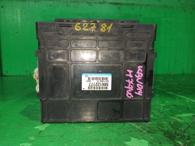 Блок управления efi Mitsubishi Pajero Io H77W 4G94 GDI MN122177