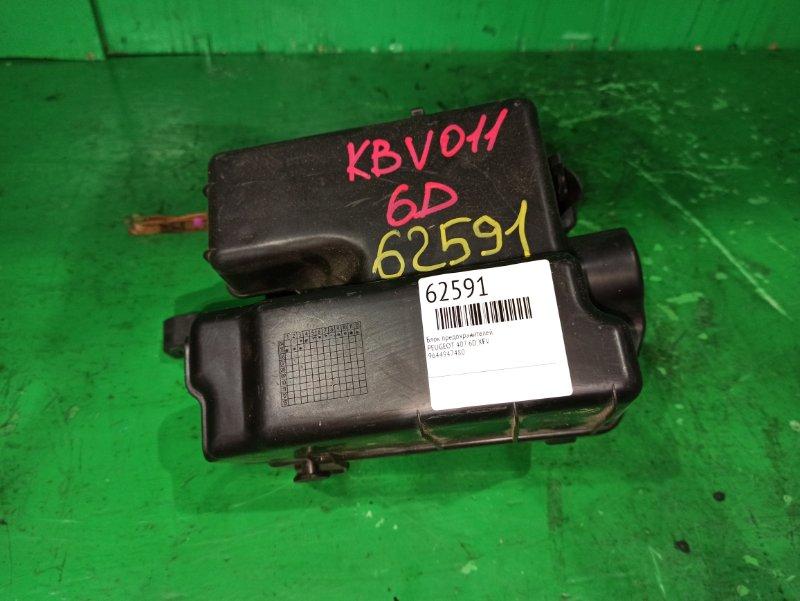 Блок предохранителей Peugeot 407 6D XFV 9656148080