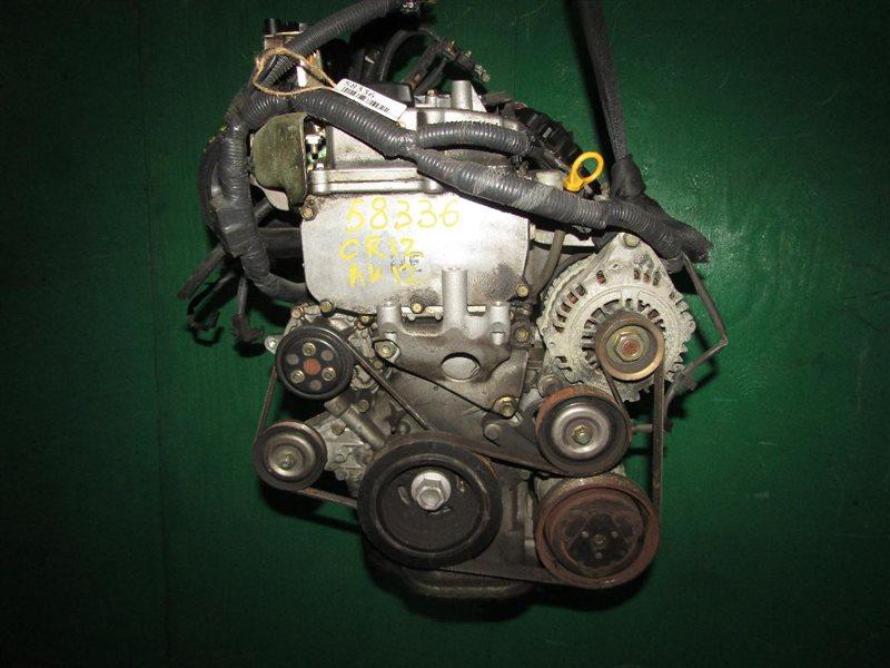Двигатель Nissan March AK12 CR12DE 201614