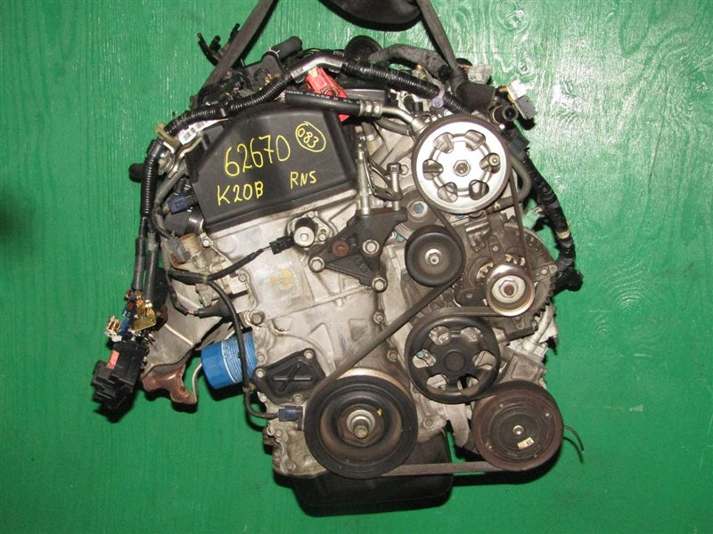 Двигатель Honda Stream RN5 K20B 1020157