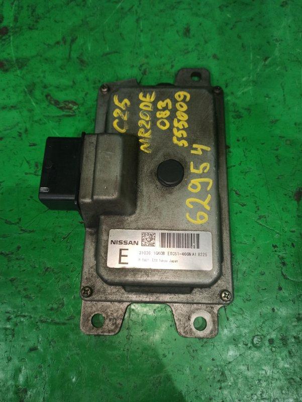 Блок управления автоматом Nissan Serena C25 MR20DE 31036-1GK0B