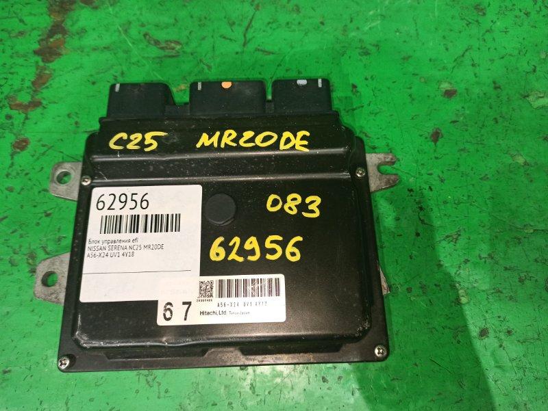 Блок управления efi Nissan Lafesta B30 MR20DE A56-X24 UV1