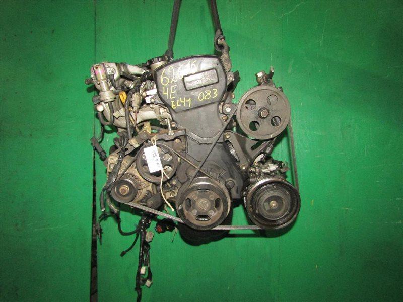 Двигатель Toyota Corsa EL41 4E-FE 0167414