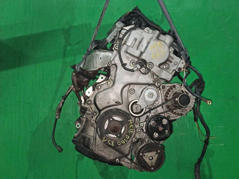 Двигатель Nissan Tiida JC11 MR18DE 076083A