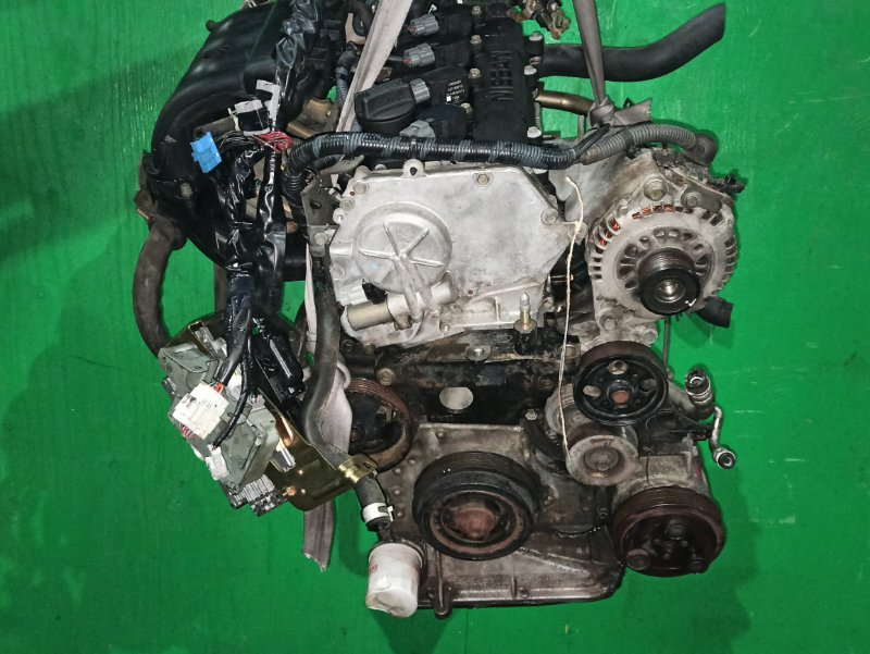 Двигатель Nissan Murano TZ50 QR25DE 254240A