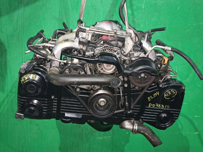 Двигатель Subaru Impreza GGC EL154 D076319