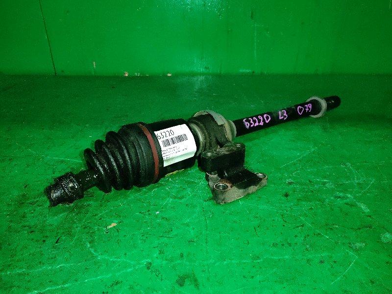 Привод Mazda Mpv LY3P L3-VE передний правый
