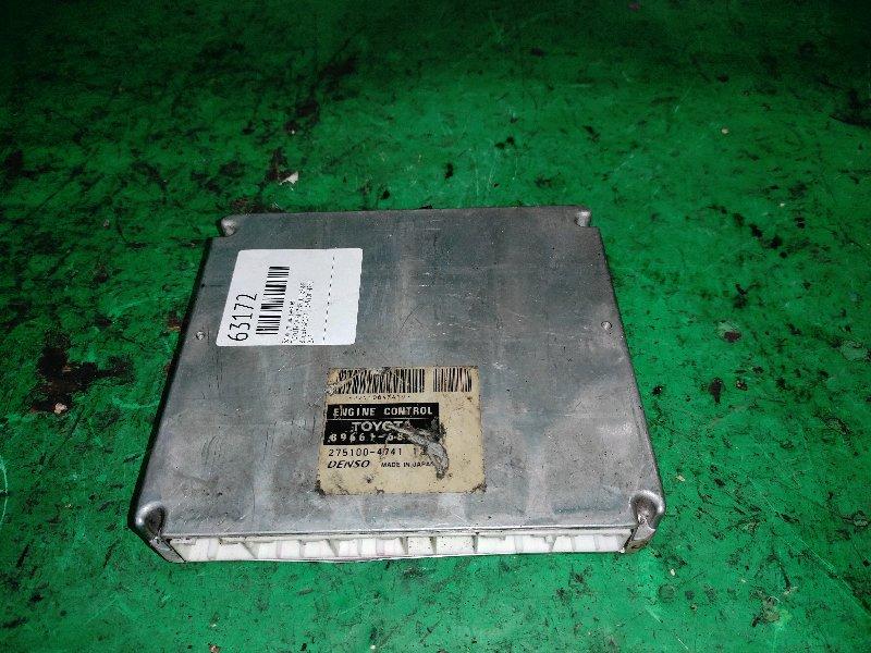Блок управления efi Toyota Wish ZNE10 1ZZ-FE 89661-68120