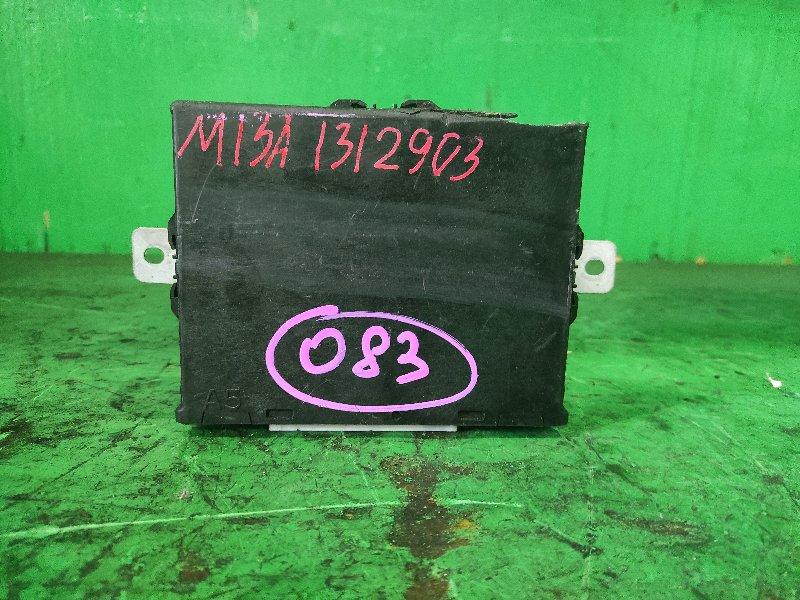 Блок управления efi Suzuki HT51S M13A 33920-55J7