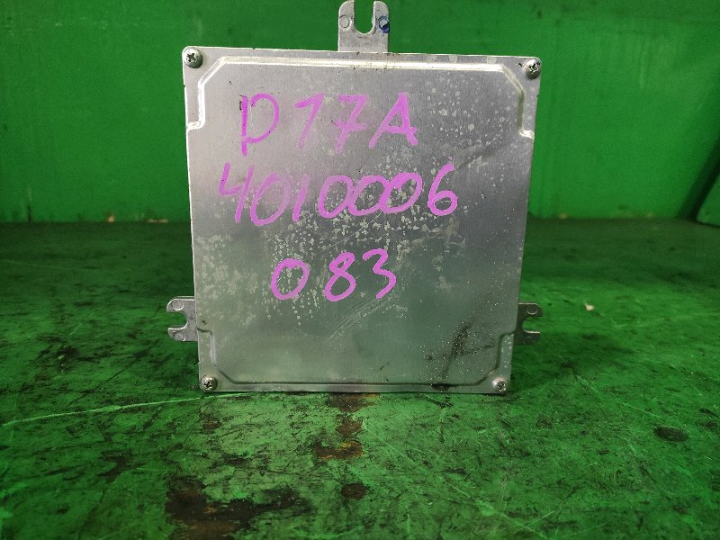 Блок управления efi Honda Edix BE2 D17A 37820-RJH-N91