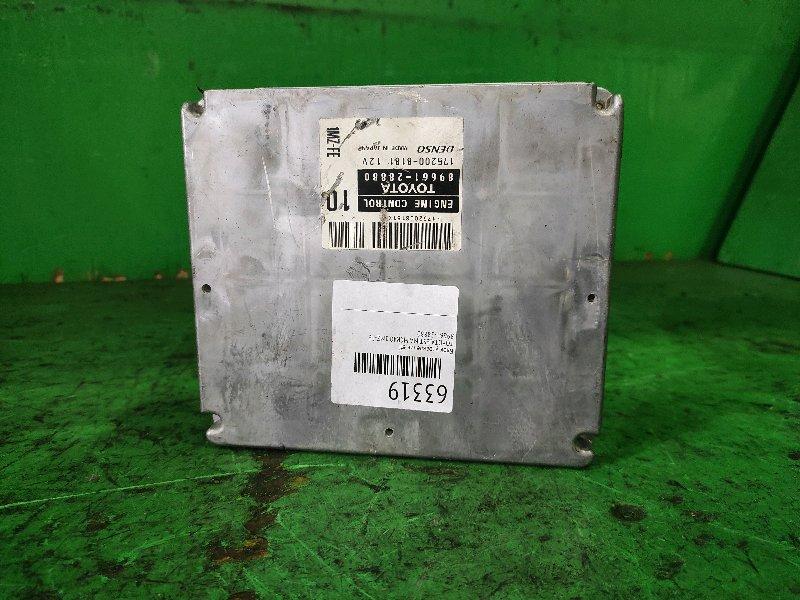Блок управления efi Toyota Estima MCR40 1MZ-FE 89661-28880