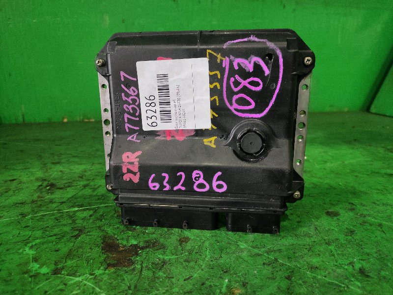 Блок управления efi Toyota Wish ZGE20 2ZR-FAE 89661-68201