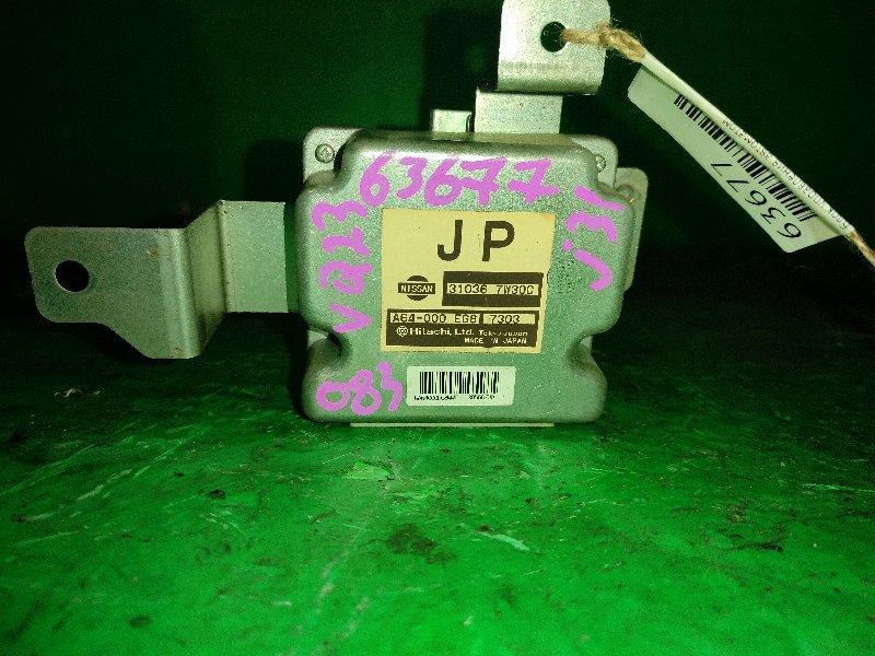 Блок управления автоматом Nissan Teana J31 VQ23DE 31036-7W30C
