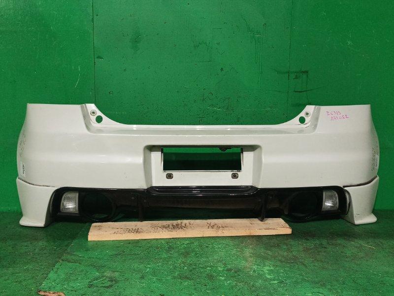 Бампер Suzuki Swift ZC31S задний