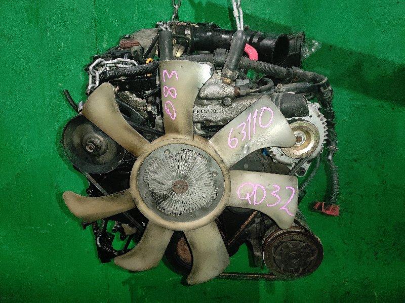 Двигатель Nissan Elgrand AVWE50 QD32ETI 028438A