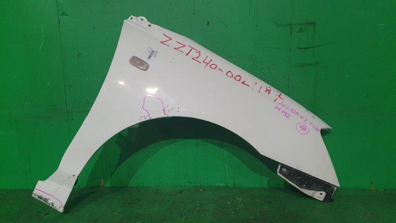 Крыло Toyota Allion NZT240 переднее правое
