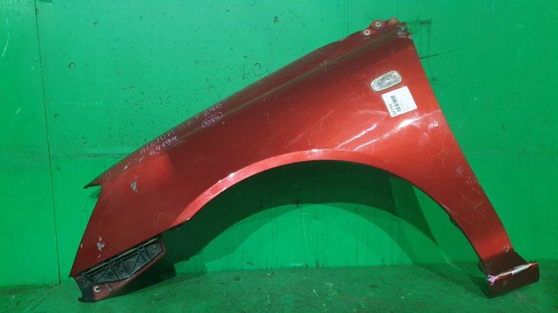 Крыло Toyota Allion NZT240 переднее левое