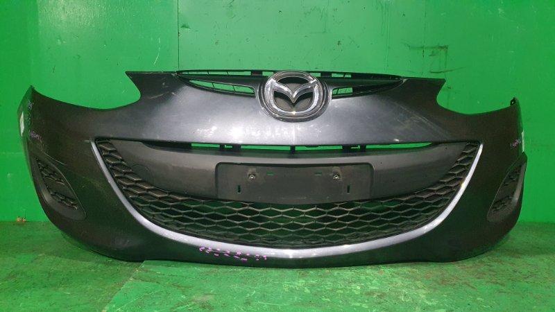 Бампер Mazda Demio DE3FS 06.2011 передний