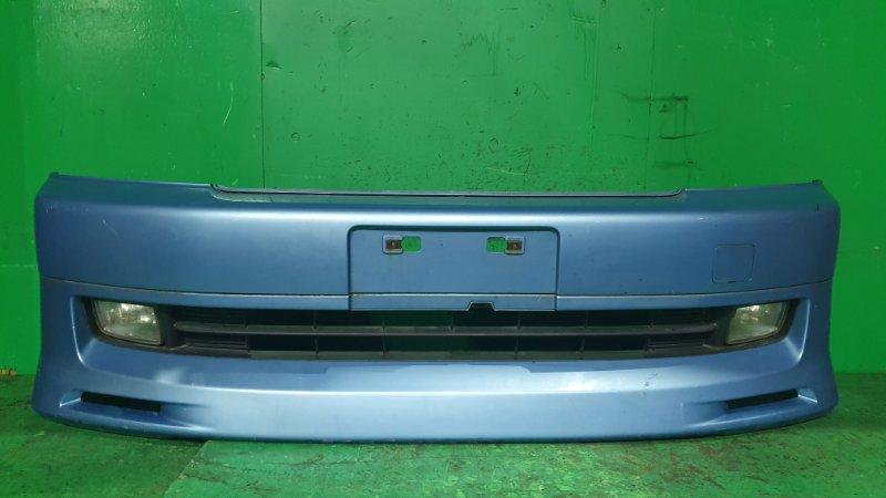 Бампер Honda Step Wagon RF3 04.2001 передний 114-22393