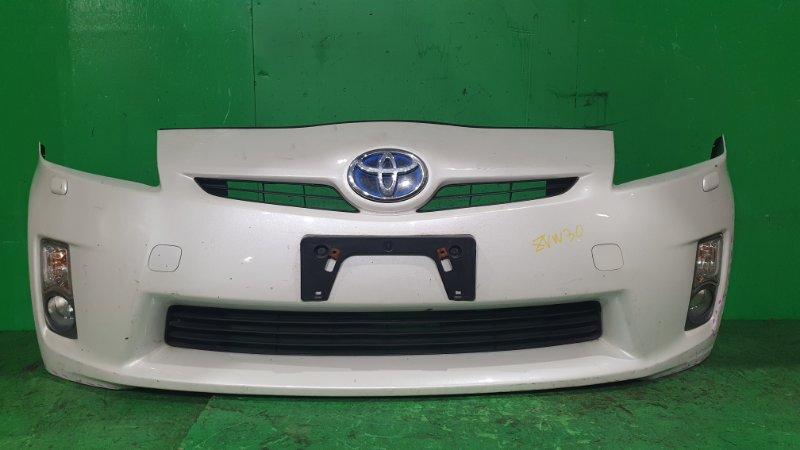 Бампер Toyota Prius ZVW30 01.2009 передний