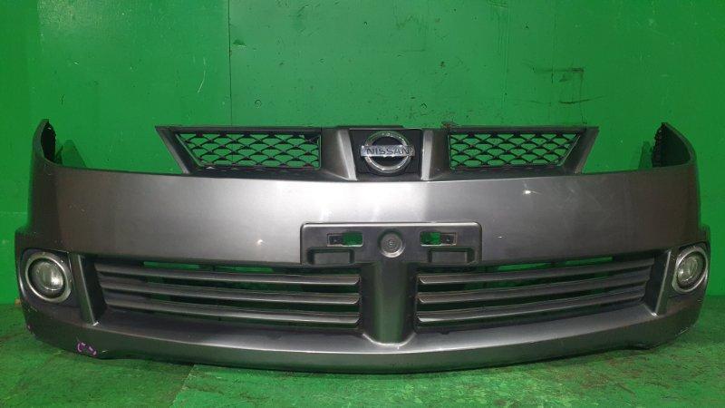 Бампер Nissan Wingroad WFY11 10.2001 передний 029-065