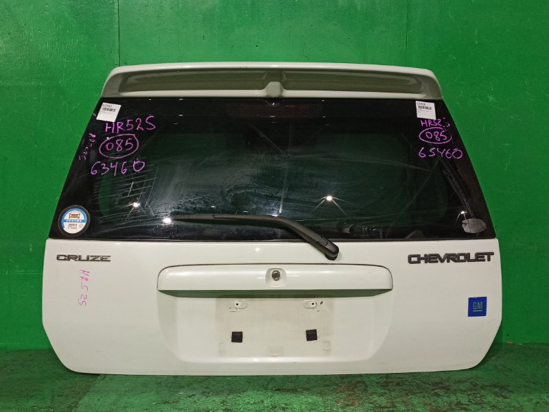 Дверь задняя Suzuki Chevrolet Cruze HR52S