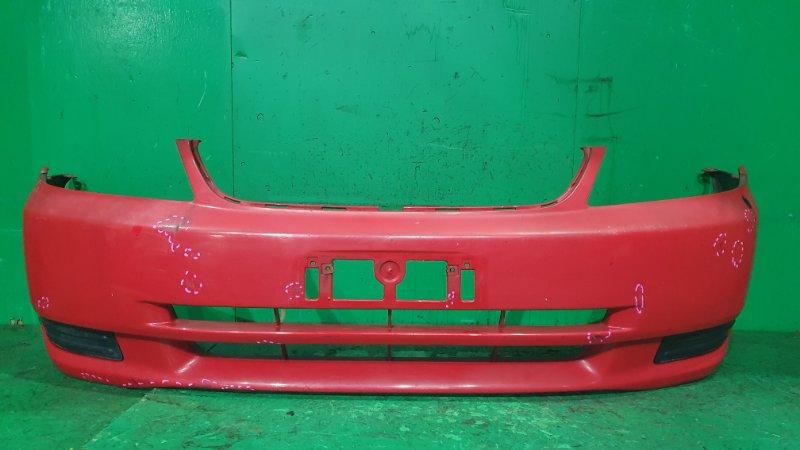 Бампер Toyota Allex CE121 08.2000 передний