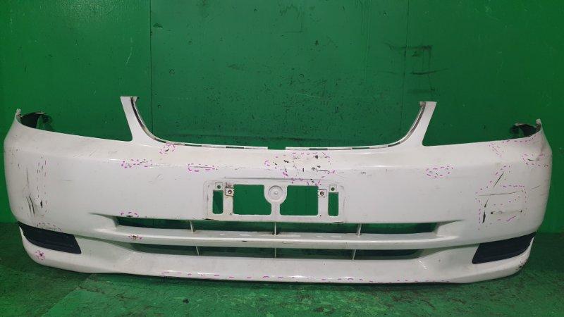 Бампер Toyota Corolla CE121 08.2000 передний