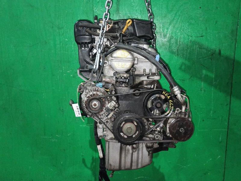 Двигатель Suzuki Wagon R MH21S K6A 6622441