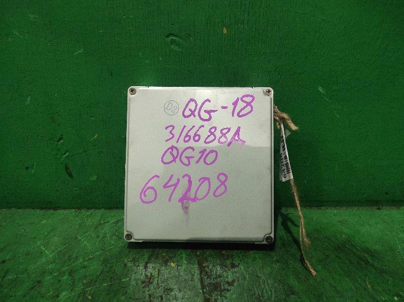 Блок управления efi Nissan Bluebird Sylphy QG10 QG18DE A56-U76 AT3