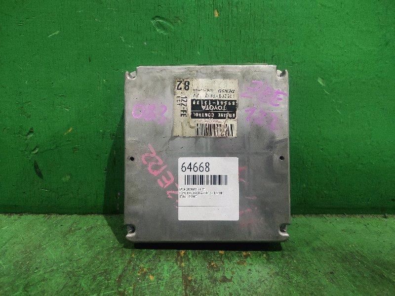 Блок управления efi Toyota Corolla ZZE122 1ZZ-FE 89661-13100