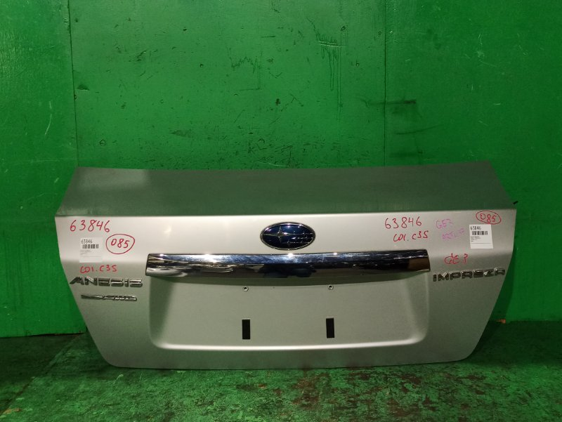 Крышка багажника Subaru Impreza GE3
