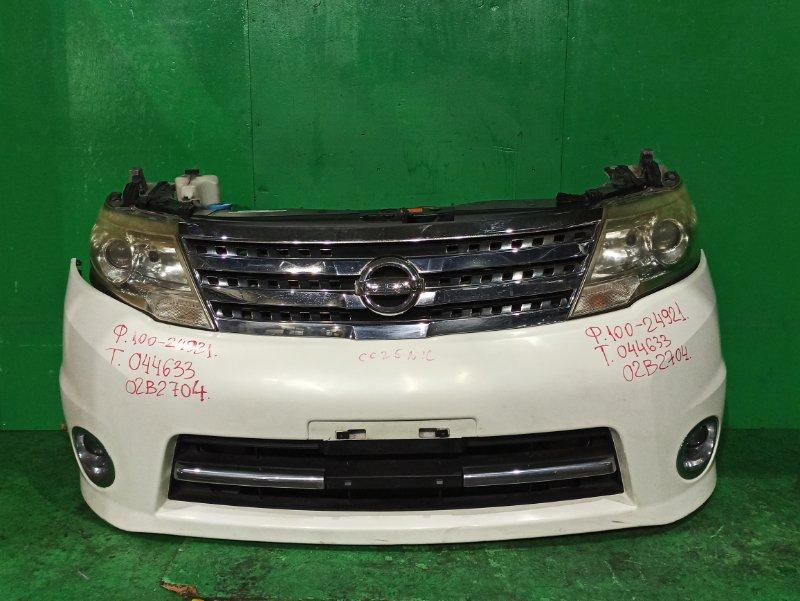 Nose cut Nissan Serena CC25 MR20DE 12.2007 100-24921, 02B2704