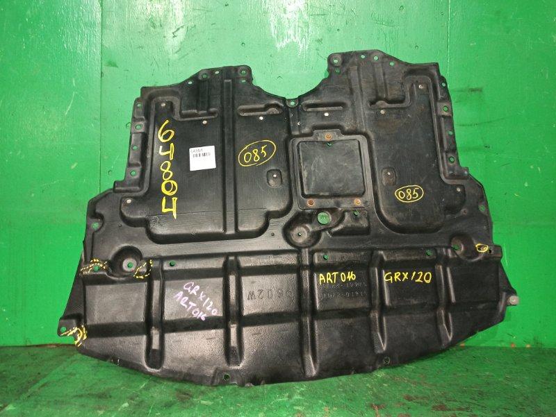 Защита двигателя Toyota Mark X GRX120 передняя