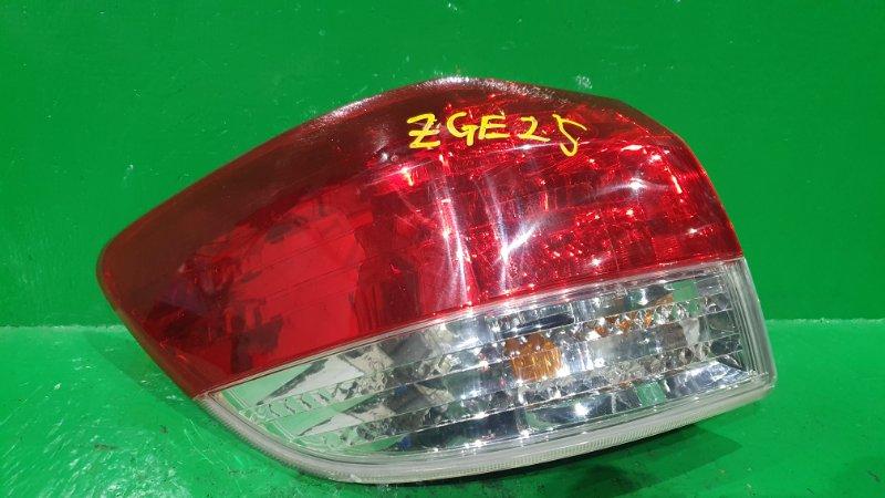 Стоп-сигнал Toyota Wish ZGE22 задний левый 68-17