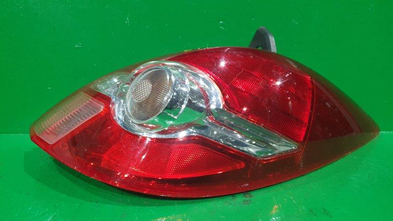 Стоп-сигнал Nissan Tiida NC11 01.2008 задний правый P7511