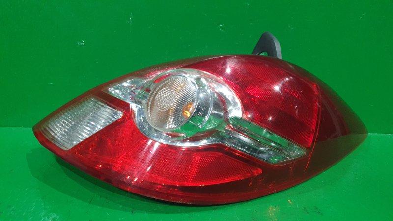 Стоп-сигнал Nissan Tiida C11 01.2008 задний правый P7511