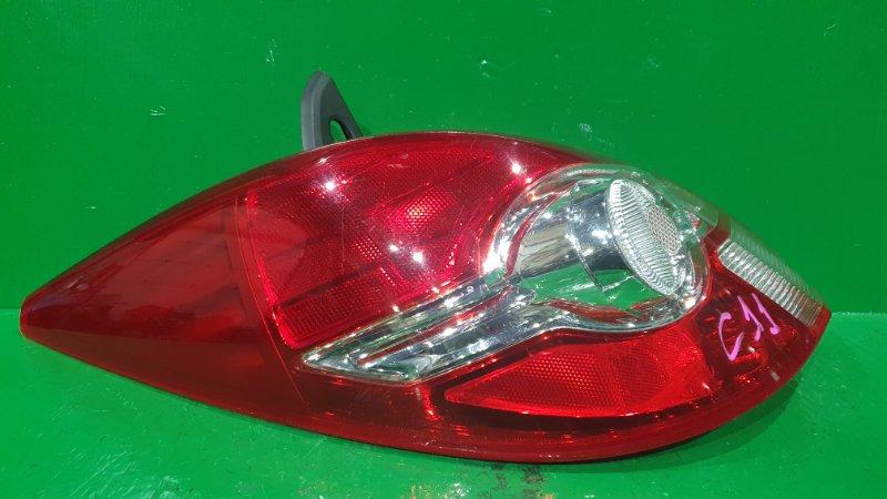 Стоп-сигнал Nissan Tiida C11 01.2008 задний левый P7511