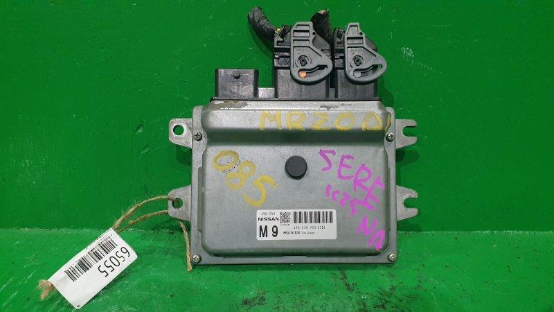 Блок управления efi Nissan Serena CC25 MR20DE A56-C50 Y93