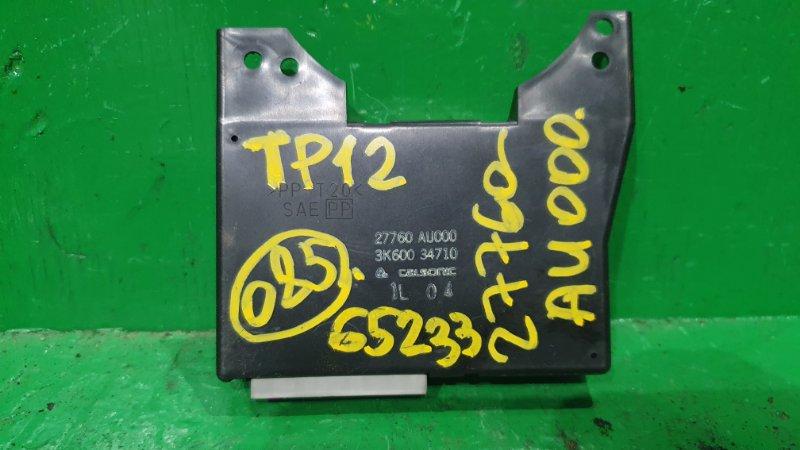 Блок управления климат-контролем Nissan Primera TP12 27760-AU000