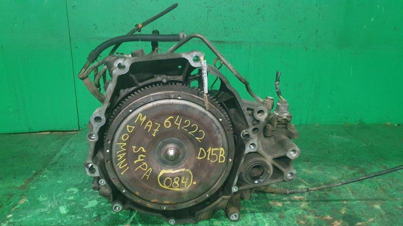 Акпп Honda Domani MA7 D15B S4PA