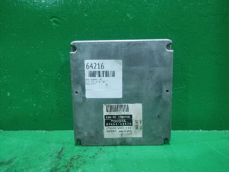 Блок управления efi Toyota Wish ZNE14 1ZZ-FE 89661-68020