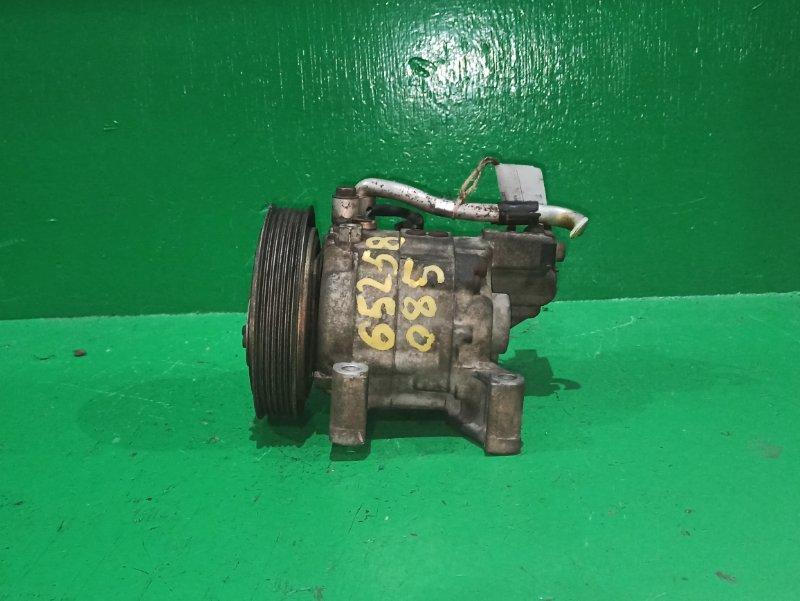 Компрессор кондиционера Nissan Wingroad WHY11 QG18DE 92600-4M410