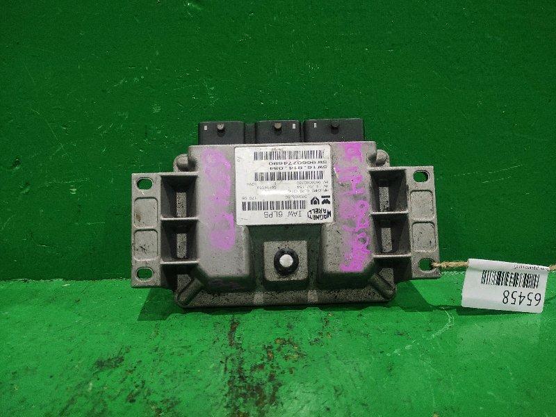 Блок управления efi Peugeot 307 RFJ 9660774680