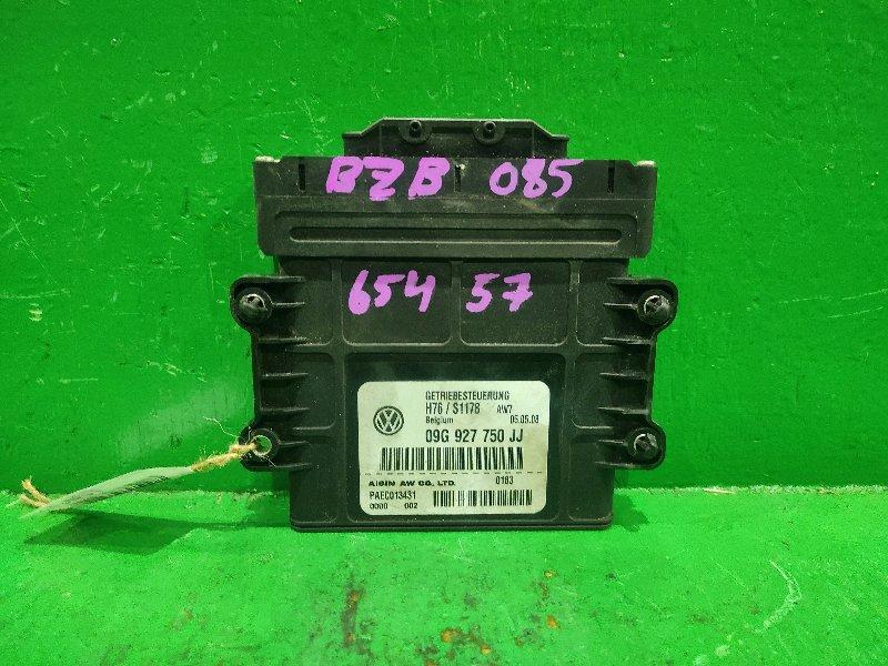 Блок управления автоматом Volkswagen Passat B6 BZB 09G927750JJ