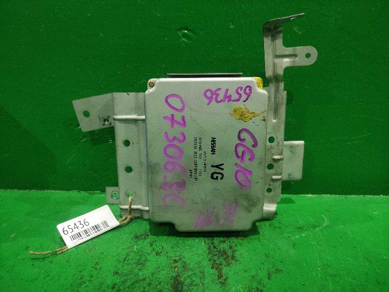 Блок управления efi Nissan March K11 CG10DE 23710-AN019
