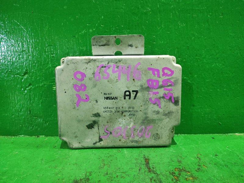 Блок управления efi Nissan Sunny FB15 QG15DE A56-K47 B18